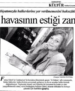 Cumhuriyet Gazetesi- A. Köksal