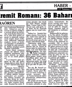 K. Demokrat Gazetesi- S. Karaören