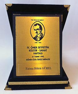 Ömer Seyfettin Hikâye Ödülü